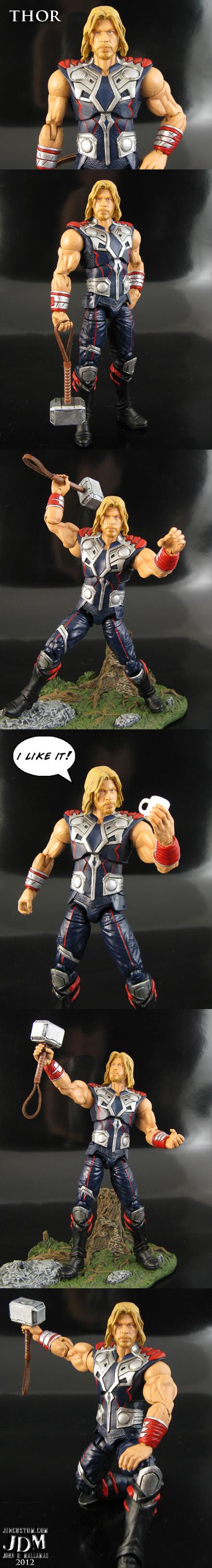 Custom Sleeveless Thor