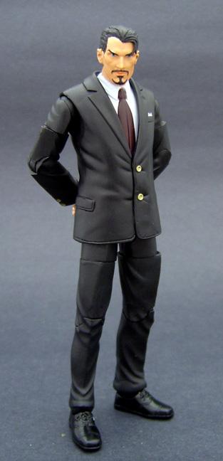 Custom Tony Stark Marvel Legends
