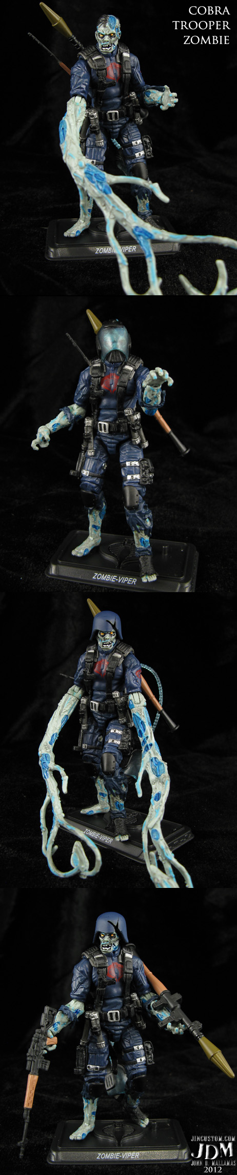 Custom Zombie Trooper GI Joe