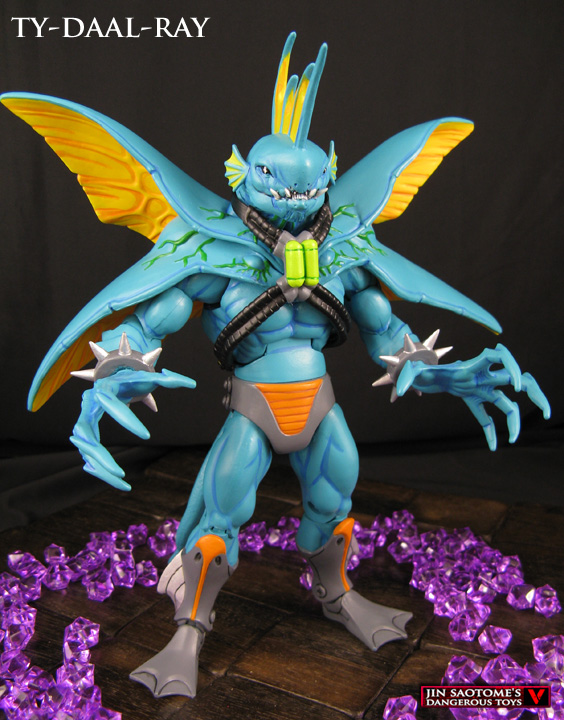 Ty Daal Ray Custom Figure Original Masters Of The