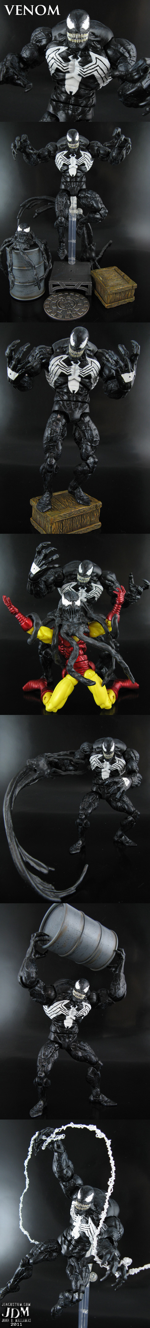 Custom Venom Action Figure