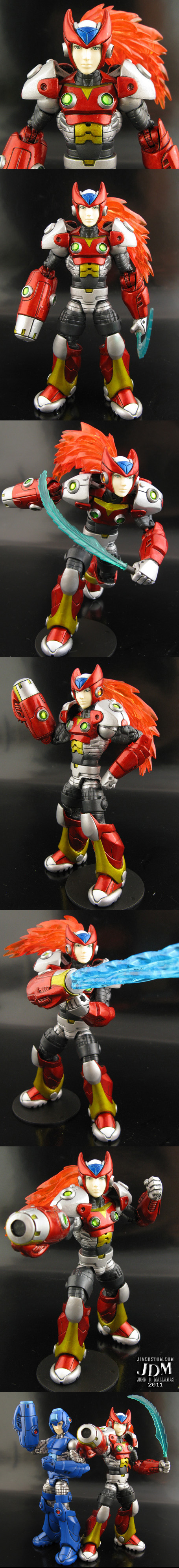 Megaman Zero Custom Figure