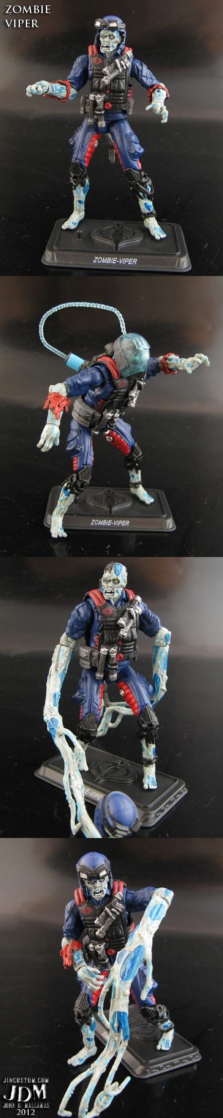 Custom Zombie Viper GI Joe