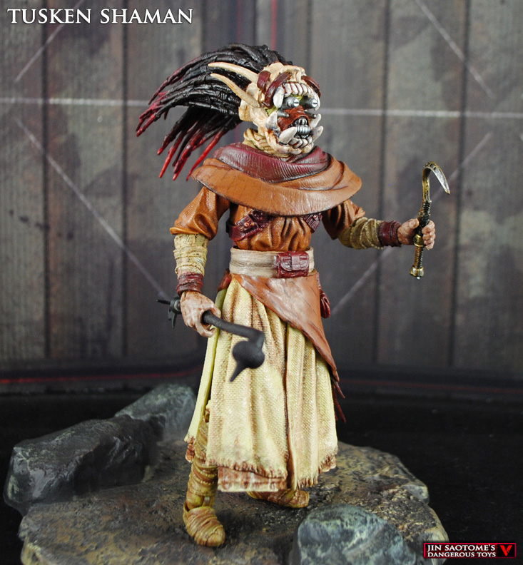 Custom Tusken Shaman Star Wars Black series figure from SWGOH!