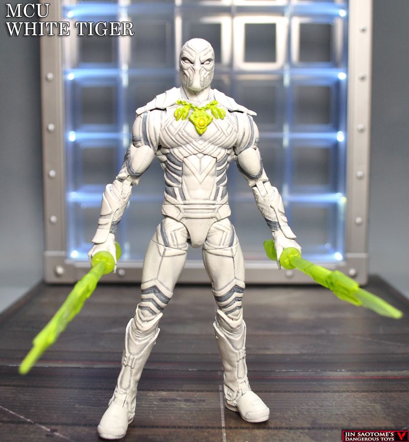 Custom Marvel Legends White Tiger Mcu Concept Figure