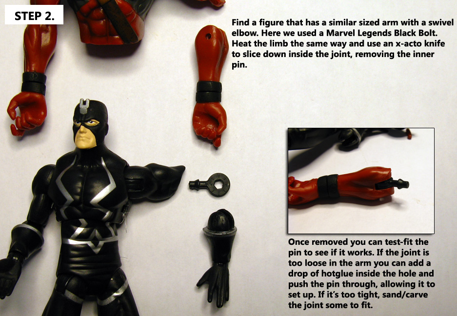 Turn A Hinge Joint Into A Swivel Joint