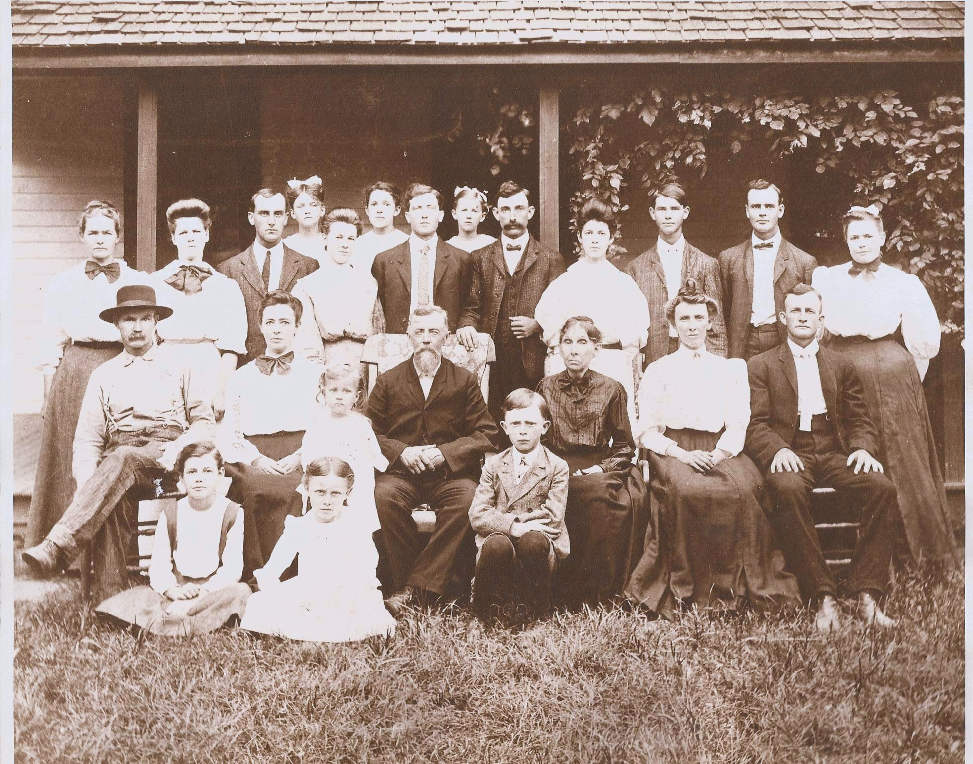 Indiana gibson county francisco - Image Annis Upton Families