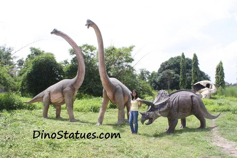 garden figures. Dinosaur Statues Life Size Sculptures Models Garden Figures