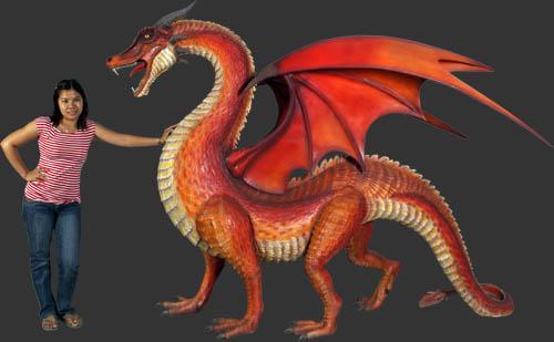Outdoor Dragon Statue Dragon Statue 1