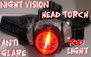 Night vision Head light