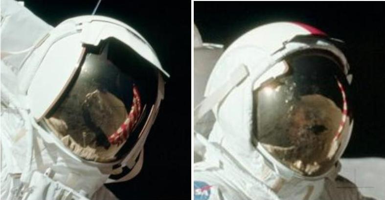 Astronaut Helmet Reflection Alien - Pics about space