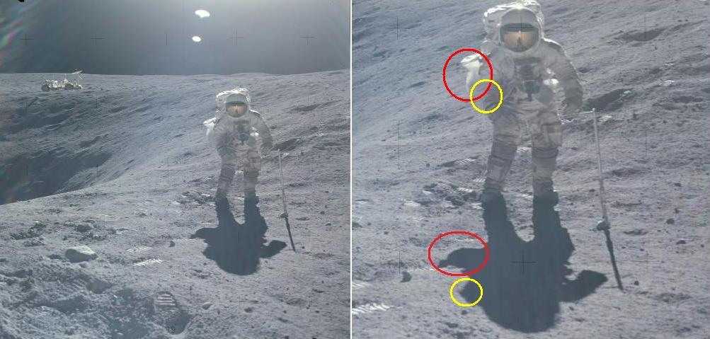 astronaut behind - photo #1