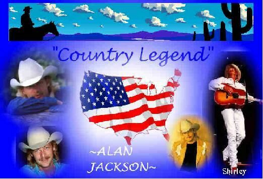 Alan Jackson postcard