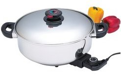 Stainless steel slow cooker - Click for Details