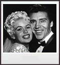 Jayne and Mickey on their Wedding Day, January 13, 1958