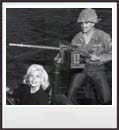 Jayne in the Army. Copyright William Wagner. All Rights Reserved.
