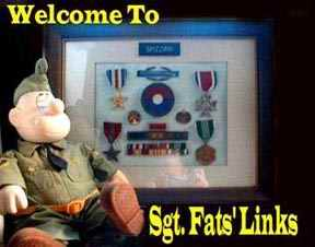 Some of Sgt. Fats credentials.