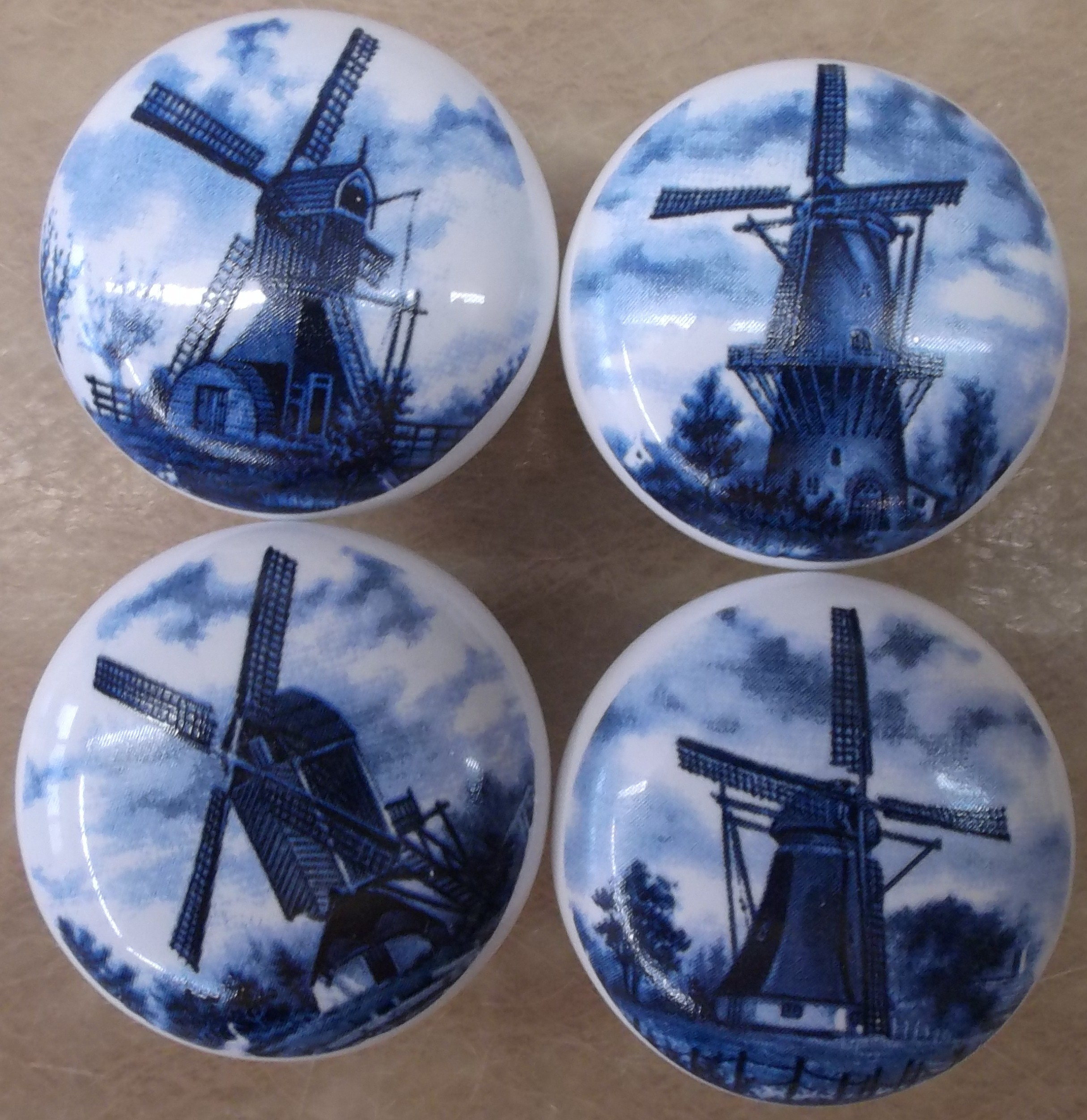 Cabinet Knobs with Lighthouses & Windmills Light House Wind Mill ...