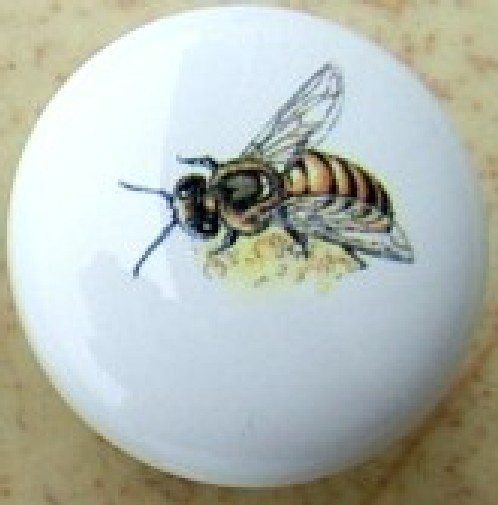 Ceramic Cabinet Knobs insects Butterfly butterflies bees hives ...