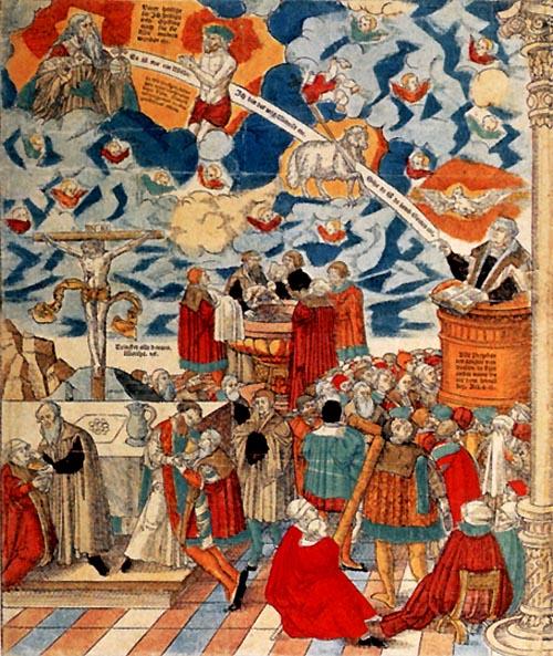 Dogmatics in sacraments study