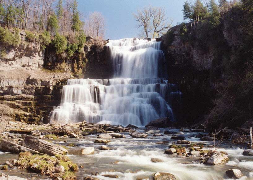Chittenango Falls State Park Cazenovia NY