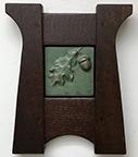 Framed Acorn Oak Leaf Art Tile Click To Enlarge
