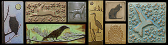 Animals, Water Creatures & Bird Tiles