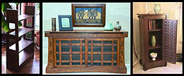 Click Here for Orderable Cabinets Bookcases Pottery and Book Stands