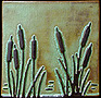 Arts & Crafts Cattails & Reeds Tiles