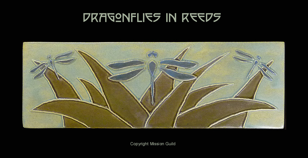 Stunning Dragonflies In Reeds Tile Click To Enlarge 1008 x 519 · 154 kB · jpeg