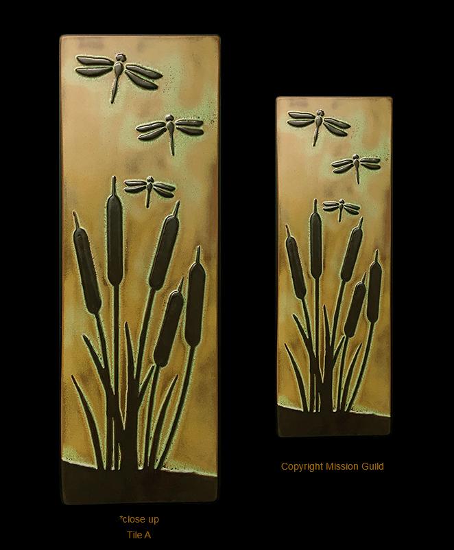 Arts And Crafts Frames , Motawi Tiles and other Unique ...  Arts Craft Tile Egret