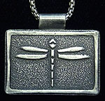 Arts & Crafts Dragonfly Necklace