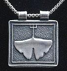 Arts & Crafts Gingko Leaf Necklace