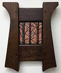 Framed Forest Trees Art Tile Click To Enlarge