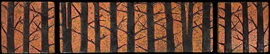 Forest Tree Tile Mural