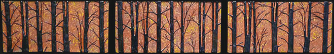Forest Tree Tile Mural