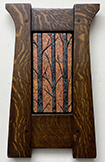 Forest Trees Autumn Framed Tile Click To Enlarge