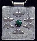 Ginkgo Leaf Necklace