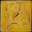 Ginkgo Leaf Tile