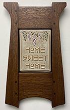 Home Sweet Home Wisteria Framed Art Tile Click To Enlarge