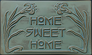 Home Sweet Home Lily Art Tile