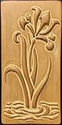 Iris Art Tile