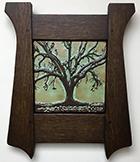 Framed Live Oak Tree Tile Click To Enlarge