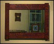 Mission Oak Mirror