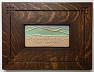 Framed John Muir Mountains Motto Tile Click To Enlarge