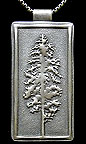 Tall Pine Tree Necklace