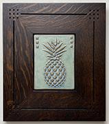 Pineapple Hospitality Framed Tile Click To Enlarge