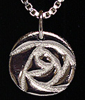 Rennies Glasgow Round Rose Necklace