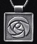 Arts & Crafts Rennie Rose Necklace
