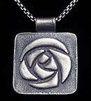 Mackintosh Glasgow Rose Necklace